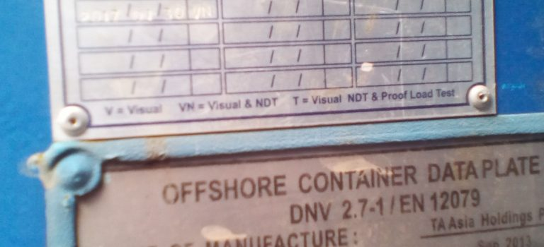 Offshore DNV Containers, Baskets & Modules