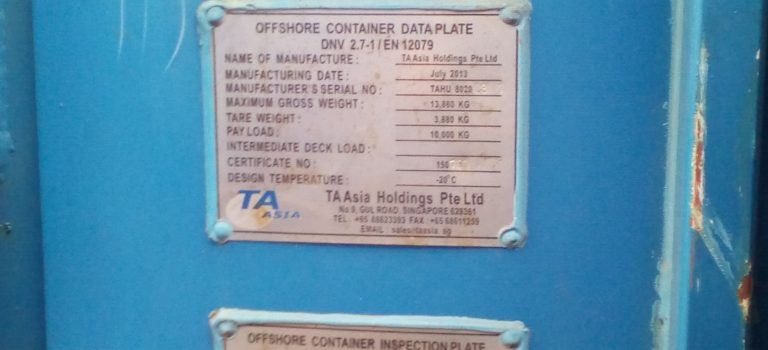 Offshore Containers – Open Top & Half Height CCU's