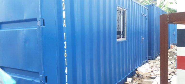 sewa container office di medan
